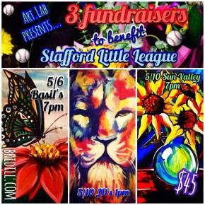 Art.Lab hosts 3 Fundraisers for Stafford LittleLeague