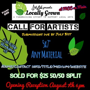 CALL FOR ARTISTS: Art.Lab presents LocallyGrown